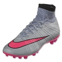 Nike Mercurial Superfly AG R (Wolf Gray/Hyper Pink)