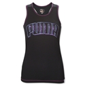 PUMA Women's Performance Racerback Tank (Black)