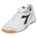 Diadora Maracana IN Indoor Soccer Shoes (White/Black)