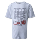 Evolution of Athletes Soccer T-Shirt (White)