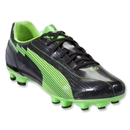 PUMA evoSpeed 5 FG (Black/Fluo Green)