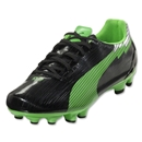 PUMA Women's evoSpeed 4 FG (Black/Fluorescent Green)
