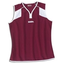 Xara Women's Preston Sleeveless Soccer Jersey (Maroon)