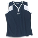 Xara Women's Preston Sleeveless Soccer Jersey (Navy)