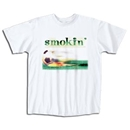 Smokin' Soccer T-Shirt (White)