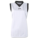 Vici Women's Sleeveless Turin Soccer Jersey (Wh/Bk)
