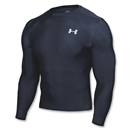 Under Armour HeatGear Compression LS T-Shirt (Navy)