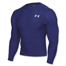 Under Armour HeatGear Compression LS T-Shirt (royal)