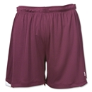 Under Armour Emulate Women's Soccer Shorts (Maroon/Wht)