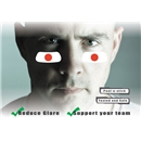 Japan Flag Eyeblacks 4 Pair