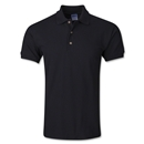 World Soccer Shop Camisa Polo (Negra)