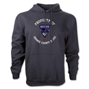 Orange County Blues Soccer Hoody (Black)