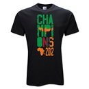 Zambia 2012 Champions of Africa T-Shirt (Black)