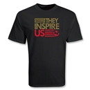 USA They Inspire Us T-Shirt (Black)