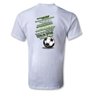 Utopia What I Live For Soccer T-Shirt (White)