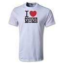 Utopia I Heart Soccer Moms T-Shirt (White)