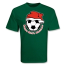 Happy Kick'n Christmas Soccer T-Shirt