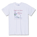 Sugar and Spice Soccer T-Shirt (White)