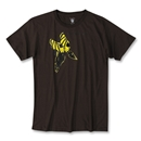High On My Game Soccer T-Shirt (Brown)