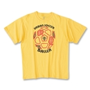 The World's Game Soccer T-Shirt (Yellow)