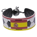 Spain Flag Soccer Bracelet