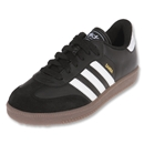 adidas Samba Classic KIDS Indoor Soccer Shoes (Black/White)