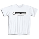 Soccer Lunatic T-Shirt (White)