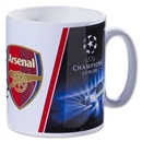 Arsenal UCL Ceramic Mug