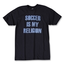 Soccer is my Religion T-Shirt (Navy)