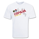 Spain 2010 Soccer T-Shirt (WH)