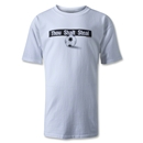 Thou Shalt Steal Soccer T-Shirt (White)