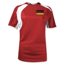 Germany Gambeta Women's Soccer Jersey (Red)