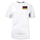 Germany Gambeta Women's Soccer Jersey (White)
