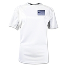 Greece Gambeta Women's Soccer Jersey (White)