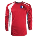 France Gambeta LS Soccer Jersey (Red)
