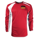 Germany Gambeta LS Soccer Jersey (Red)