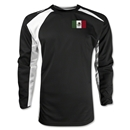 Mexico Gambeta LS Soccer Jersey (Black)