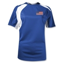 USA Gambeta Women's Soccer Jersey (Royal)
