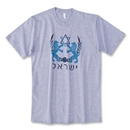 Israel Lions Soccer Crest T-Shirt (Gray)