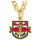 NY Red Bulls Logo Necklace