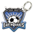 San Jose Earthquakes Key Ring