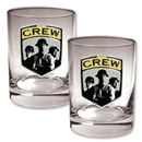 Columbus Crew 2 pc. Rocks Glass Set