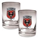 D.C. United 2 pc. Rocks Glass Set