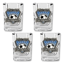 San Jose Earthquakes Four Piece Shot Glass Set