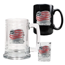 New England Revolution 3 Piece Drinkware Set