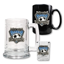 San Jose Earthquakes 3 Piece Drinkware Set