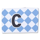 Captain Armband Diamond Pattern (Wh/Ro)