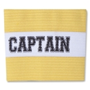Captain Junior Striped Armband (Yellow)