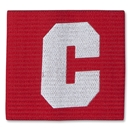 European Style Junior Captain Armband (Red)
