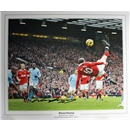 ICONS Signed Wayne Rooney Manchester United Photo